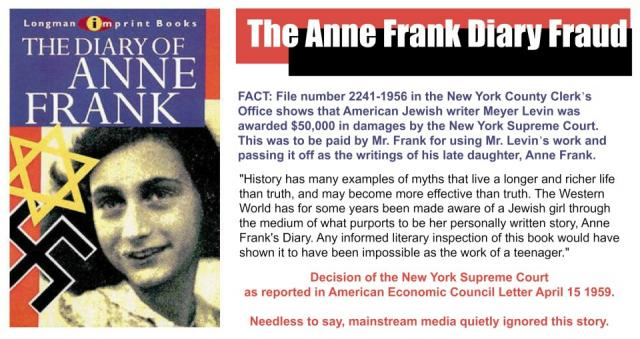 Anne Frank Deception