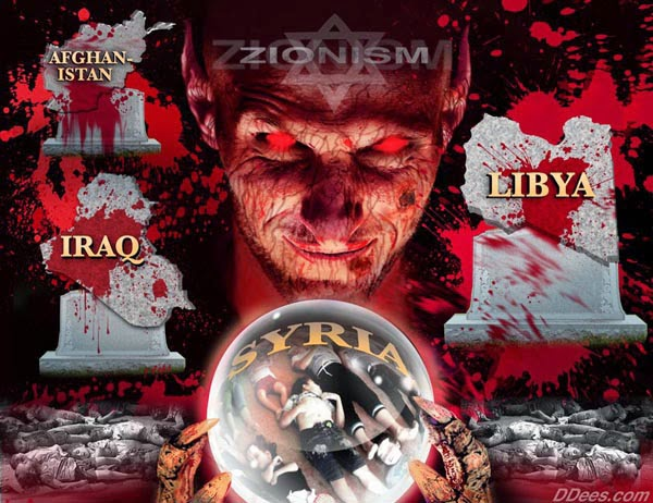 Zionist war-mongers by Dees