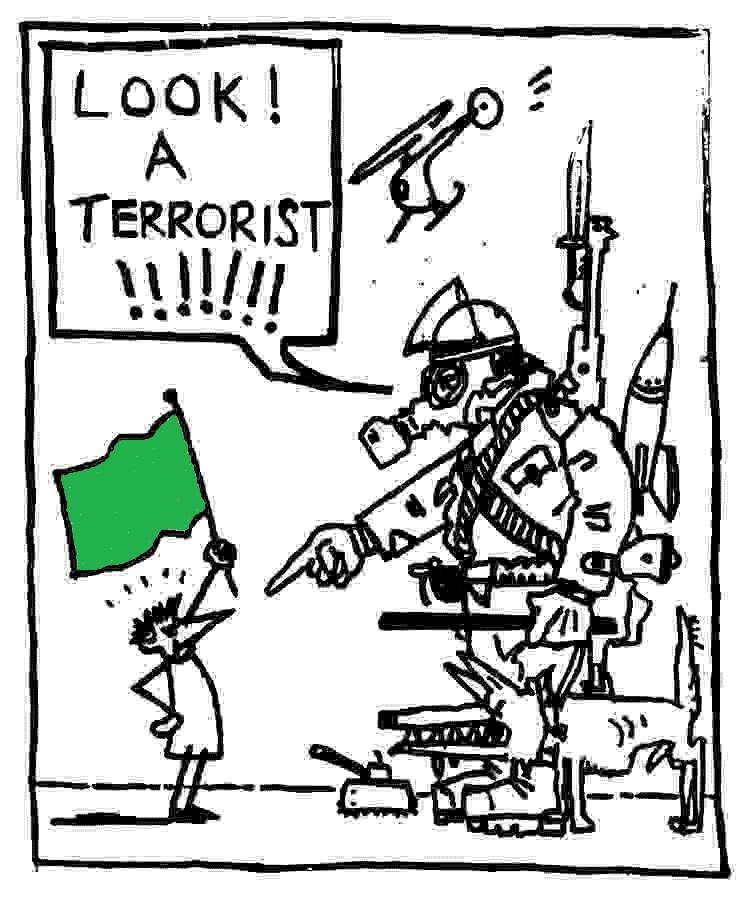 activist-terrorist