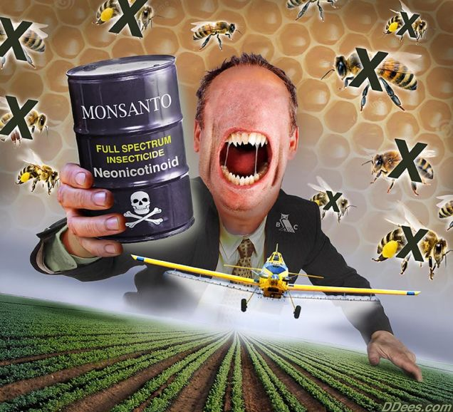 monstanto-bee-killers